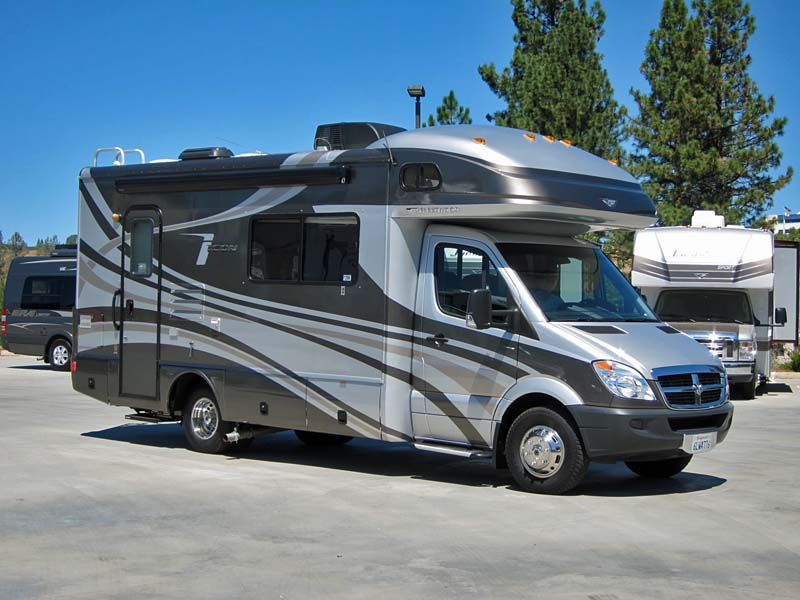 2010 Fleetwood Icon 24S Slide Out Diesel Class C Motorhome This Coach Is Built On A Dodge Sprinter Chassis And Powered By Mercedes 30L Engine